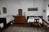 Blick in ein Wohnhaus in Mörbisch