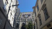 Wien, Stadtführung, Blick auf Stephansdom