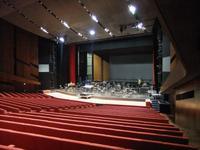 Im Konzertsaal des Festspielhauses