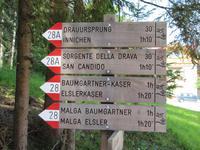Wanderung vomToblacher See nach Innichen