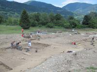 Besichtigung der römischen Ausgrabungen - Aguntum