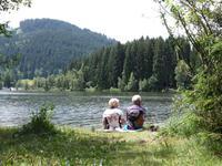 Am Schwarzsee bei Kitzbuehel