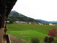 Blick zum Kitzbüheler Horn vom Hotel
