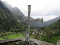 Auf dem Friedhof in Heiligenblut