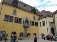 In der Altstadt von Regensburg