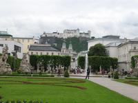 Salzburg Blick zur Feste Hohensalzburg