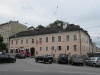 Salzburg Wohnhaus der Familie Mozart