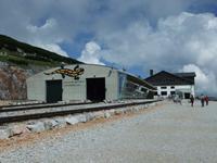 Der Bahnhof in 1800 m Höhe