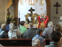 In der Kirche von Miesenbach