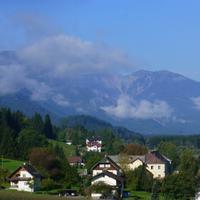 Blick auf die Lienzer Dolomiten