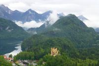 Alpsee und Schloss Hohenschwangau