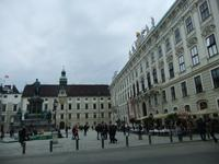 Im Innenhof der Hofburg