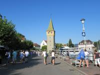 Lindau - Uferpromenade und der Mangturm