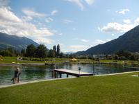 Badestop am Schlitter See