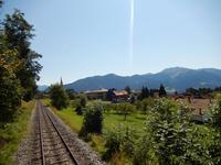 Bahn unterwegs