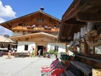 Reise ins Brixental/Tirol - Söll - Traktorfahrt zum Gruberhof