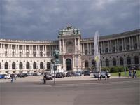 Die Hofburg in Wien - Neue Burg