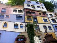 Das Wiener Hundertwasserhaus