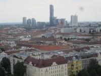 Wien_Blick auf die Donau City
