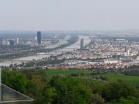 Wien Blick vom Kahlenberg