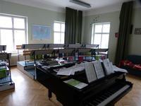 Das Musikzimmer der Sängerknaben