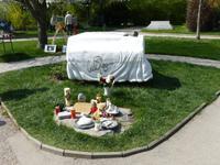 Das Grab von Udo Jürgens auf dem Zentralfriedhof von Wien