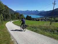 Radtour zurück zum Wolfgangsee