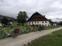 Radtour im Salzkammergut