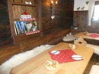 Gemütliche Bauernstube zur Käseverkostung im Wilden Käser