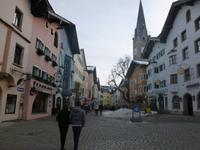 Spaziergang der Eberhardt Weihnachtsgäste in Kitzbühel