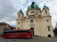 An der Margaretenkirche in Berndorf