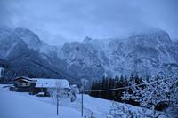 002 Abtenau, erster Morgen am Tennengebirge
