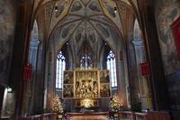 024 Sankt Wolfgang, Kirche Sankt Wolfgang mit Pacher-Altar