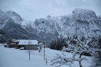 033 Abtenau, zweiter Abend am Tennengebirge
