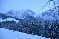 035 Abtenau, ein neuer Morgen am Tennengebirge