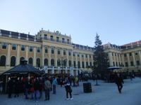 Auf dem Weihnachtsmarkt am Schloss Schönbrunn
