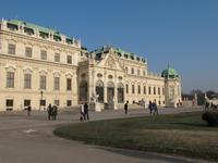 Prunkeingang zum Unteren Belvedere