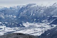 111 Berchtesgaden, Rossfeldpanoramastraße, Blick nach Golling