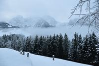 004 Abtenau, Winterlandschaft am Tennengebirge