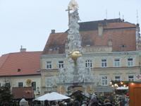 Die Pestsäule in Baden