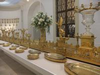 In der Silberkammer der Wiener Hofburg