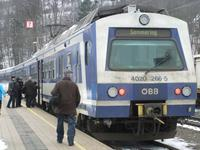 Fahrt mit der Semmeringbahn