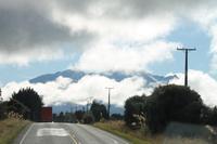 Fahrt in Richtung Tongariro N.P.