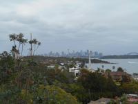 Blick auf die Skyline von Sydney