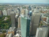 Ausblick vom Sydney-Tower
