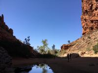 Fahrt durchs Outback - Simpsons Gap