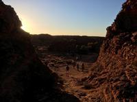 Wanderung zum Sonnenaufgang im Kings Canyon