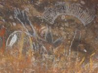 Höhlenmalerei Ayes Rock