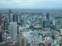 Melbourne - Eureka Tower Aussicht
