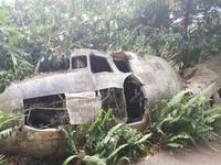 Altes abgestürztes Flugzeug in Kuranda